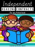 Independent Reading Contracts - for use with any fiction book
