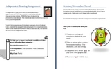 Independent Reading Plan: Language Arts Grade 6-9
