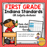 Indiana College and Career Ready Standards ~1st Grade ~