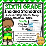 Indiana College and Career Ready Standards ~6th Grade~