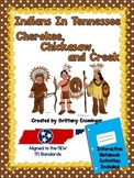 Indians In Tennessee { Cherokee, Chickasaw, Creek }