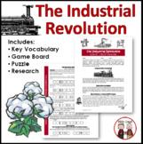 Industrial Revolution Worksheet Activity