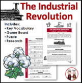 Industrial Revolution Worksheet Activity