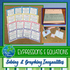 Inequality Foldable and Scavenger Hunt - FREEBIE