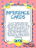 Inference Cards for Primary and Intermediate Grades
