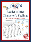 Inference Mini Lesson on Character's Feelings Reading Workshop