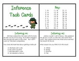 Inference Task Cards - 30 cards