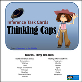 Inference Task Cards - Thinking Caps