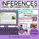 Inferences Using Informational Text: 4th and 5th Grade Com
