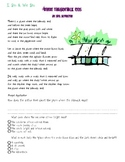 Inference with Poetry Lesson using Where the Sidewalk Ends