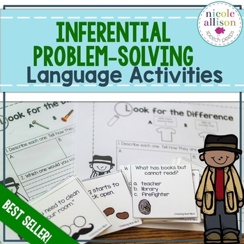 Inferential and Problem Solving Language Activity Pack