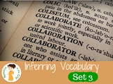 Inferring Vocabulary Cards Set 3
