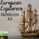 European Explorers Notebook Kit