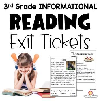 Informational Reading 3rd Grade