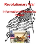 Informational Resource Packet Revolutionary War