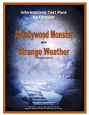 Informational Text Pack for October--A Hollywood Monster a