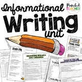 Informational Writing Resources