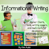 Informational Writing by Kim Adsit aligned with Common Core