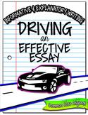 Expository Informative Explanatory Writing No Prep Common