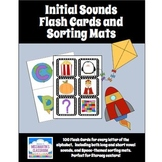 Initial Sounds Flash Cards and Sorting Mats