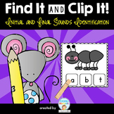 Initial and Final Sounds Identification Pack