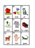 Initial/Single/Alphabet Sound Cards - 3 pages