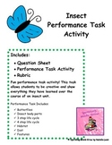 Insect Performance Task