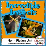 Insects: Incredible Insects Unit {CCSS}