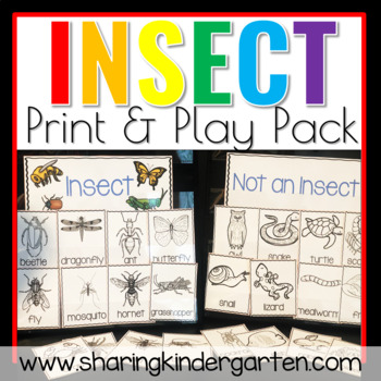 Insects {Print & Play Pack}