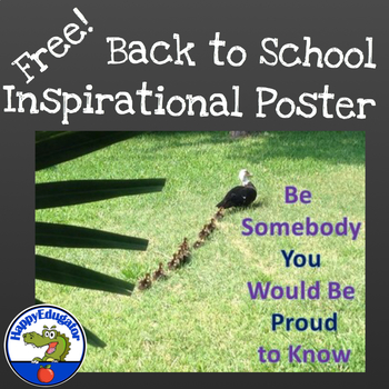 Inspirational Poster - Bird Theme