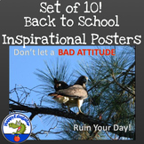 Inspirational Posters - Bird Theme Set 2