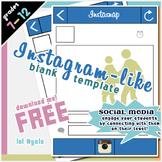 Instasnap Graphic Organizer [FREE]