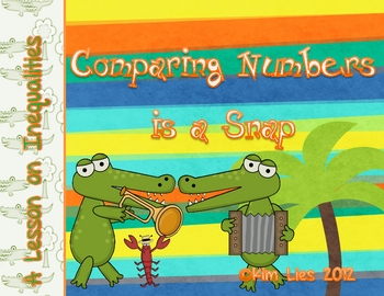 Instant Math Crocodile Inequalities and Balancing Equations