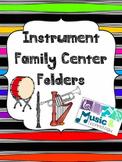 Instrument Family Folder (Brass, Woodwind, Percussion & St