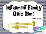 Instrument Family Trivia Game SMART Board