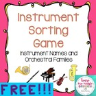 Instrument Sorting Game