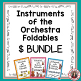Instruments of the Orchestra Foldables: BUNDLE