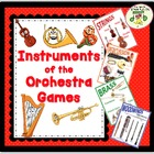 Instruments of the Orchestra—Lesson Plan, Activities, Game