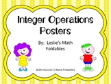 Integer Operations classroomPosters