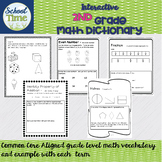 Interactive 2nd Grade Math Dictionary - Common Core