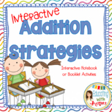 Interactive Addition Strategies Notebook