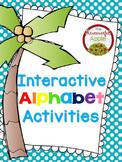 Interactive Alphabet Activities