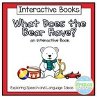 Interactive Book: What Does the Bear Have?