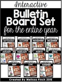 Interactive Bulletin Board Set FOR THE ENTIRE YEAR- Growin