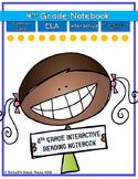 Interactive MINI Reading Journal 4th Grade ELA CC Aligned