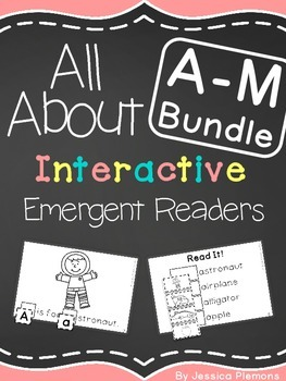Interactive Emergent Reader BUNDLE: A-M