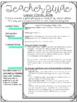 Interactive MINI Reading Journal 5th Grade CC Aligned {ELA}