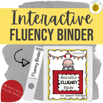 Interactive Fluency Binder for Speech Therapy