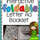 Interactive Foldable Alphabet Booklet for Letter A FREEBIE