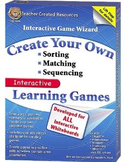 Interactive Game Wizard (Teacher Created Resources)